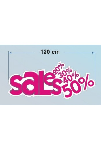 Αυτοκόλλητο SALES A1