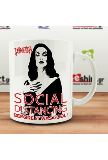Vampira - Social Distancing MUG
